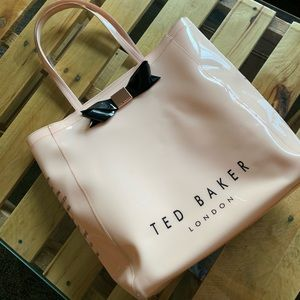 Pink and black Ted Baker London bag